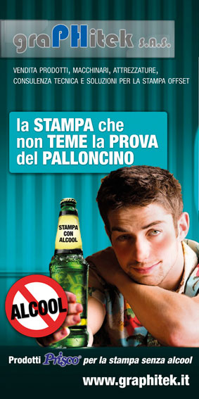 Stampa senza alcool